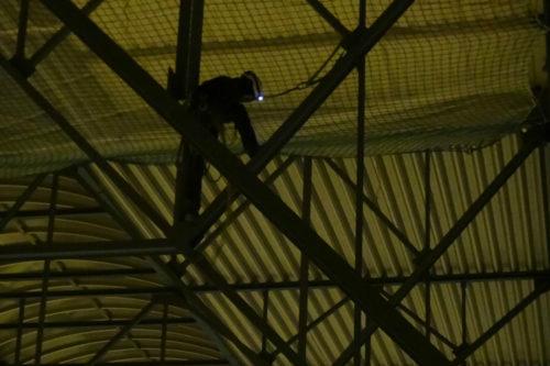 Industrieklettern Fassadenklettern Seilzugangstechnik